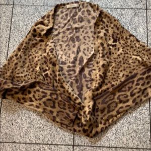 Neiman Marcus cashmere collection longsleeve shrug